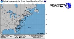 Τροπική καταιγίδα Ησαΐας στο Κεμπέκ την Τετάρτη