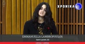 Η Εμμανουέλλα Λαμπροπούλου εντάχθηκε στην Μόνιμη Επιτροπή Δημόσιας ασφάλειας και Εθνικής προστασίας της Καναδικής Βουλής
