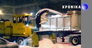 Προστασία των πεζών | πλευρικές μπάρες σε όλα τα εκχιονιστικά οχήματα του Μόντρεαλ