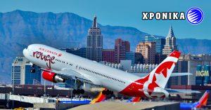 Η Air Canada Rouge αναστείλει επ ' αόριστον τις επιχειρήσεις και απολύει 80 εργαζόμενους