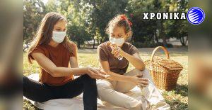 Η υποχρεωτική χρήση της μάσκας κατά τη διάρκεια υπαίθριων δραστηριοτήτων σε ντουέτο στο Κεμπέκ